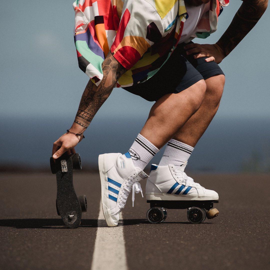 BEYOND THE ROAD Skates: Adidas Profi - Premium rolling part Model: @cawpi Photo: @amaury_cibot 