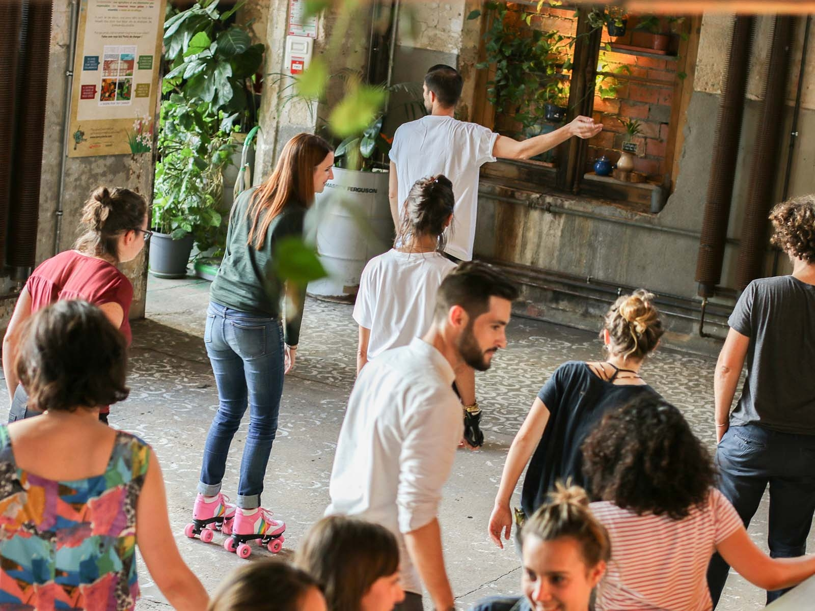 workshop de roller dance