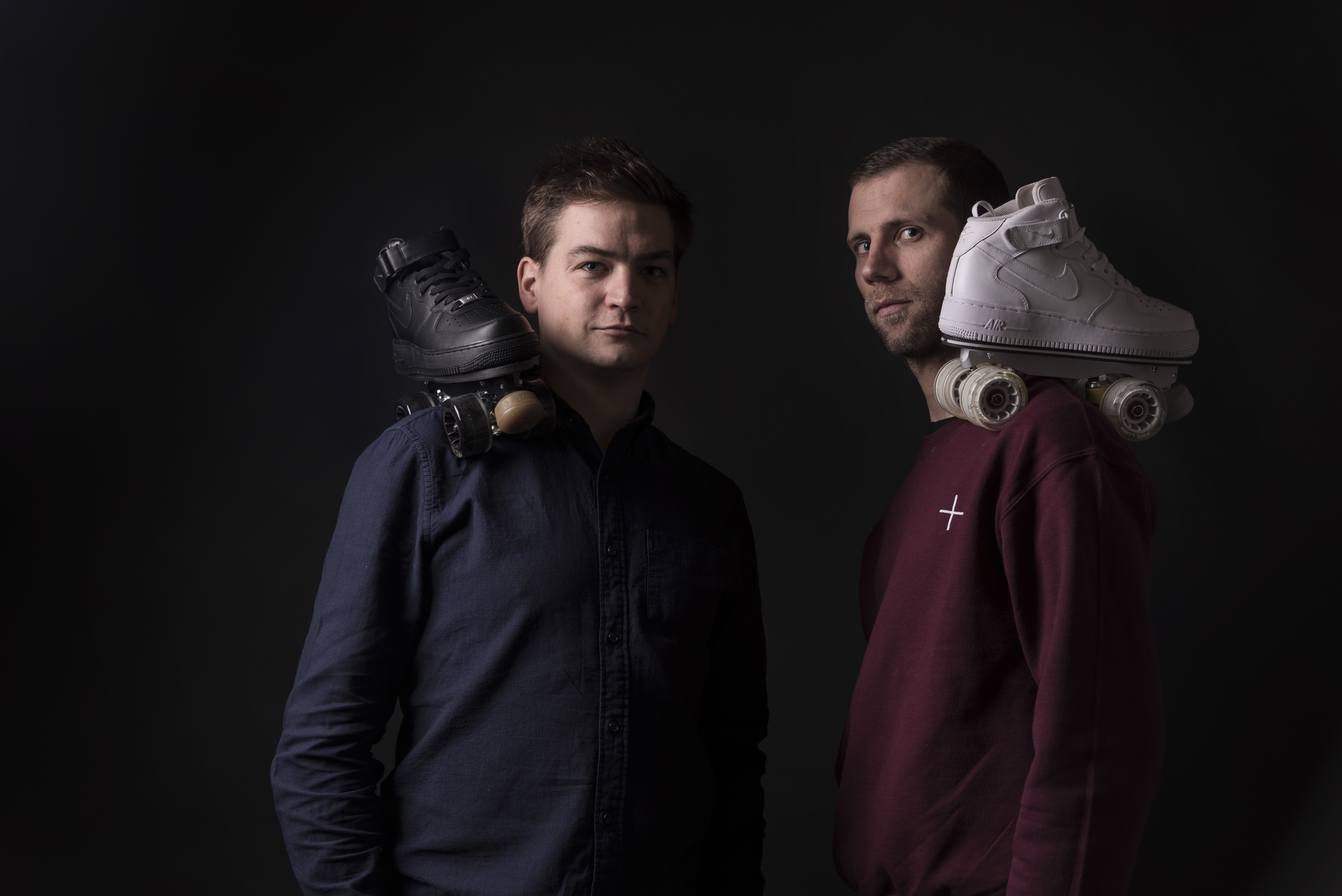 Co-fondateurs de Flaneurz : Florian et Arnaud