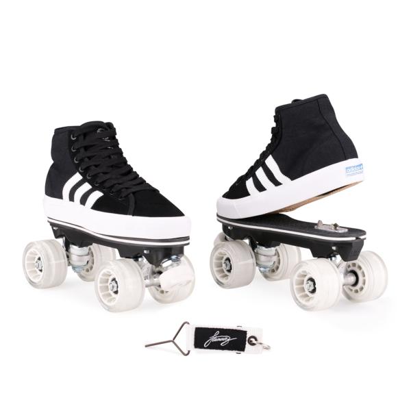 detachable skates ADIDAS MATCHCOURT HIGH RX - BLACK
