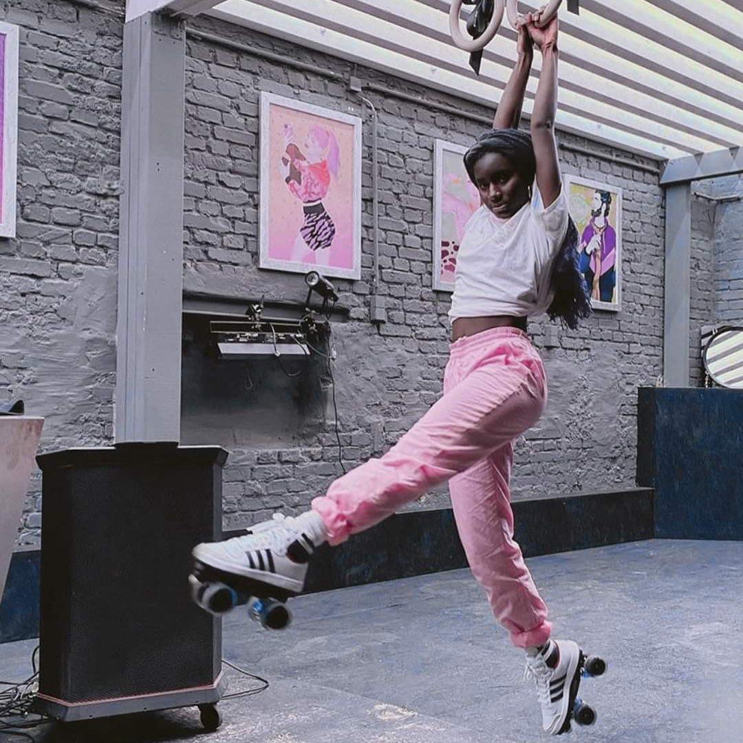 @oumi_janta x @flaneurzclique Skates: Adidas Top Ten / Premium rolling part 
