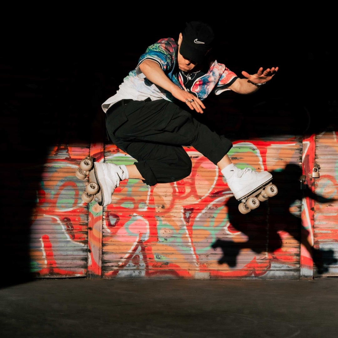 BREAK THE LINE @nicola_torelli x @flaneurzclique Custom: Nike Air Force 1 / Premium rolling part Photo: @teosnaps 