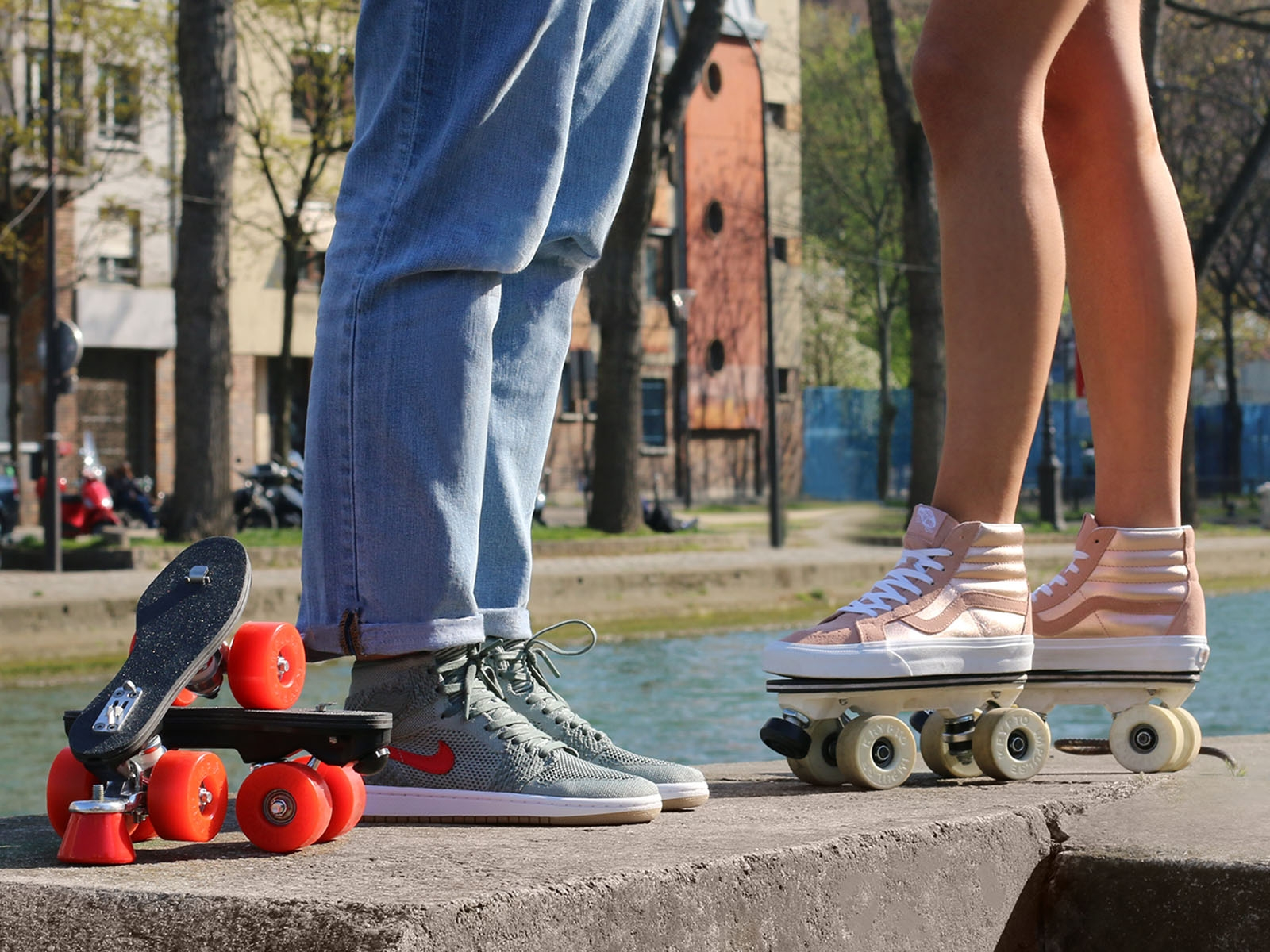 Start rollerskating: tips and advice