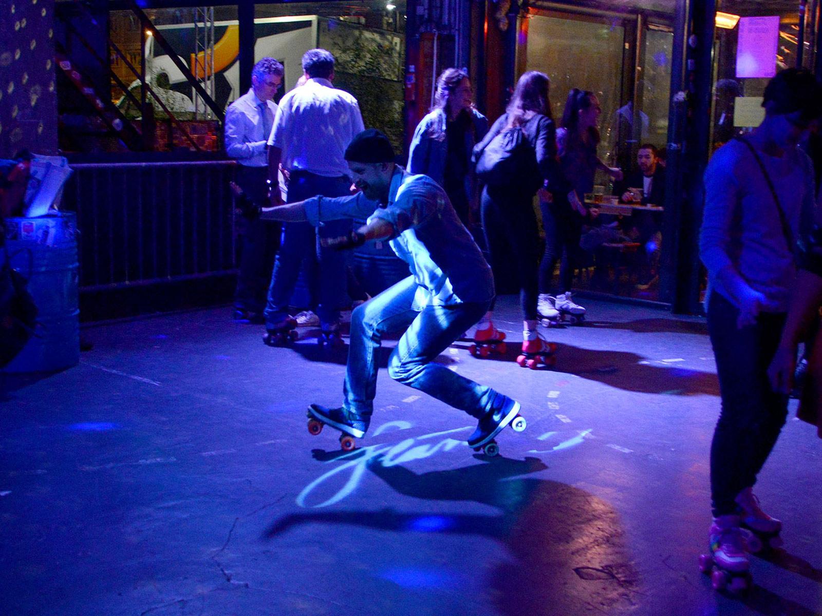 Roller skating classes in Paris